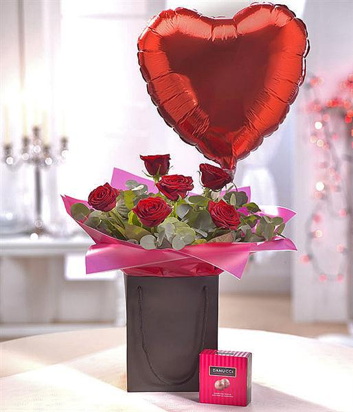 Balloon and chocolate delivery-2389